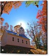 Little Cataloochee Church Acrylic Print