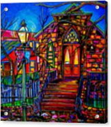 Little Church At La Villita II Acrylic Print