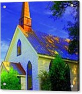 Little Church Acrylic Print