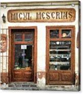 Little Craftsman' Shop - Micul Meserias Acrylic Print