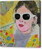 Little Diva  Acrylic Print