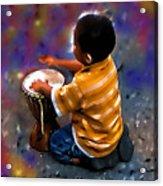 Little Drummer Boy Acrylic Print