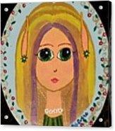 Little Elf Girl Acrylic Print