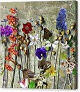 Little Garden Acrylic Print