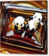 Little Glass Pandas 43 Acrylic Print