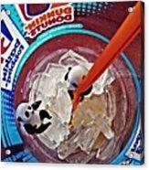 Little Glass Pandas 62 Acrylic Print