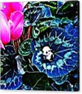 Little Glass Pandas 79 Acrylic Print