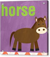 Little Horse Acrylic Print