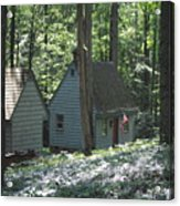 Little House In The Woods Acrylic Print
