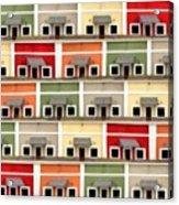 Little Houses Acrylic Print