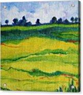 Little Landscape Acrylic Print
