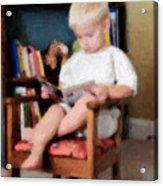 Little Learner Acrylic Print