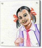Little Manju Acrylic Print