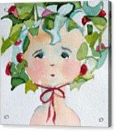Little Miss Innocent Ivy Acrylic Print