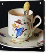 Little Miss Muffet....... Acrylic Print