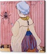 Little Miss Muffet Acrylic Print