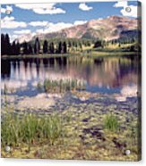 Little Molas Lake Colorado Acrylic Print