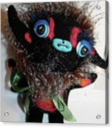 Little Monster Acrylic Print by Kathleen Raven