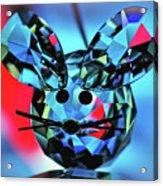 Little Mouse - Lead Crystal Acrylic Print