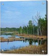 Little Musquatch Lake Acrylic Print