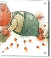 Little Pig Acrylic Print