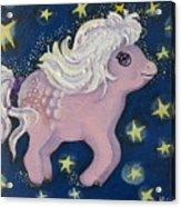 Little Pink Horse Acrylic Print