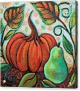 Little Pumpkin 2 Acrylic Print