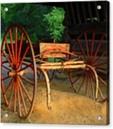 Little Red Buggy Acrylic Print