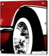 Little Red Corvette Acrylic Print