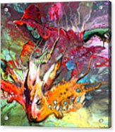 Little Red Dragonmaker Acrylic Print