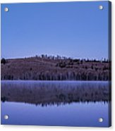 Little Red Fish Lake Acrylic Print