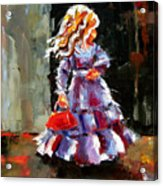 Little Red Purse Acrylic Print