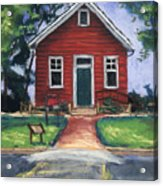 Little Red Schoolhouse Nature Center Acrylic Print