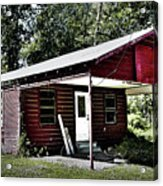 Little Red Shack Acrylic Print