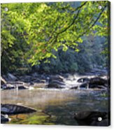 Little River Acrylic Print