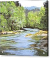 Little River Morning Acrylic Print