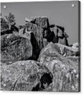 Little Round Top Gettysburg Acrylic Print