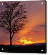 Little Round Top Sunset Acrylic Print