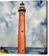 Little Sable Point Lighthouse Acrylic Print