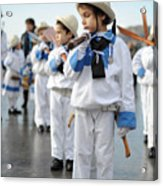 Little Sailors Acrylic Print