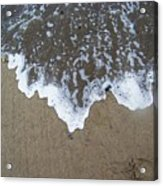 'little Sails' In The Surf Acrylic Print