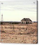 Little Shack On The Prairie Acrylic Print