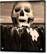 Little Sisters Of The Divine Skull Acrylic Print