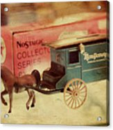 Little Stagecoach Acrylic Print