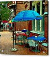Little Street Cafe Acrylic Print