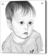 Little Sweetie Acrylic Print