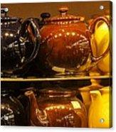 Little Teapots Acrylic Print