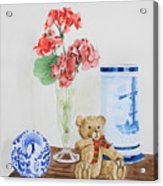 Little Ted Acrylic Print