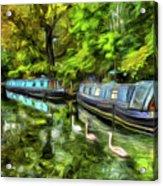 Little Venice London Art Acrylic Print