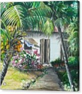 Little West Indian House 2...sold Acrylic Print